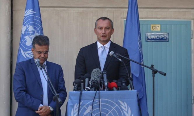 ملادينوف يطالب إسرائيل بضبط النفس وعدم قمع مسيرة العودة
