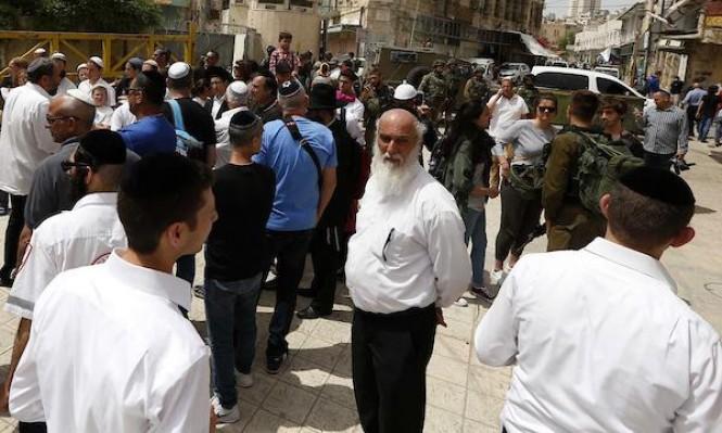 مواجهات خلال اقتحام مئات المستوطنين لمقام يوسف شرق نابلس