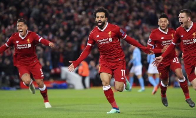 محمد صلاح يقود ليفربول لاكتساح مانشستر سيتي