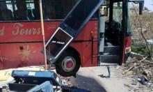 سائق يفقد السيطرة على حافلة طلاب قرب القدس