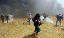 إصابات بنيران قناصة الاحتلال شرق غزة