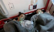 عشرات القتلى ومئات المصابين بقصف النظام لدوما بالكيماوي