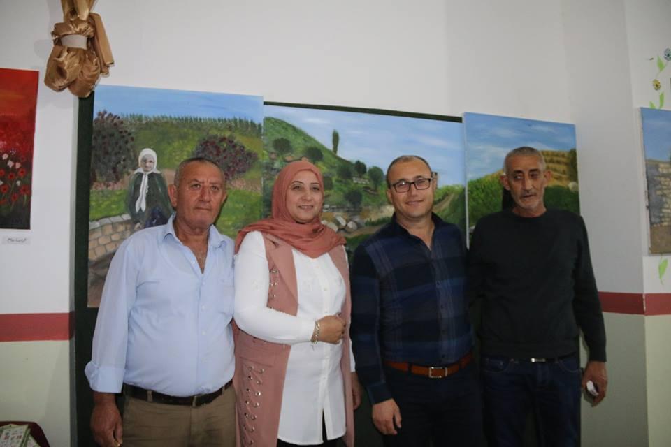 معرض لوحات من الدامون وظاهر العمر في طمرة