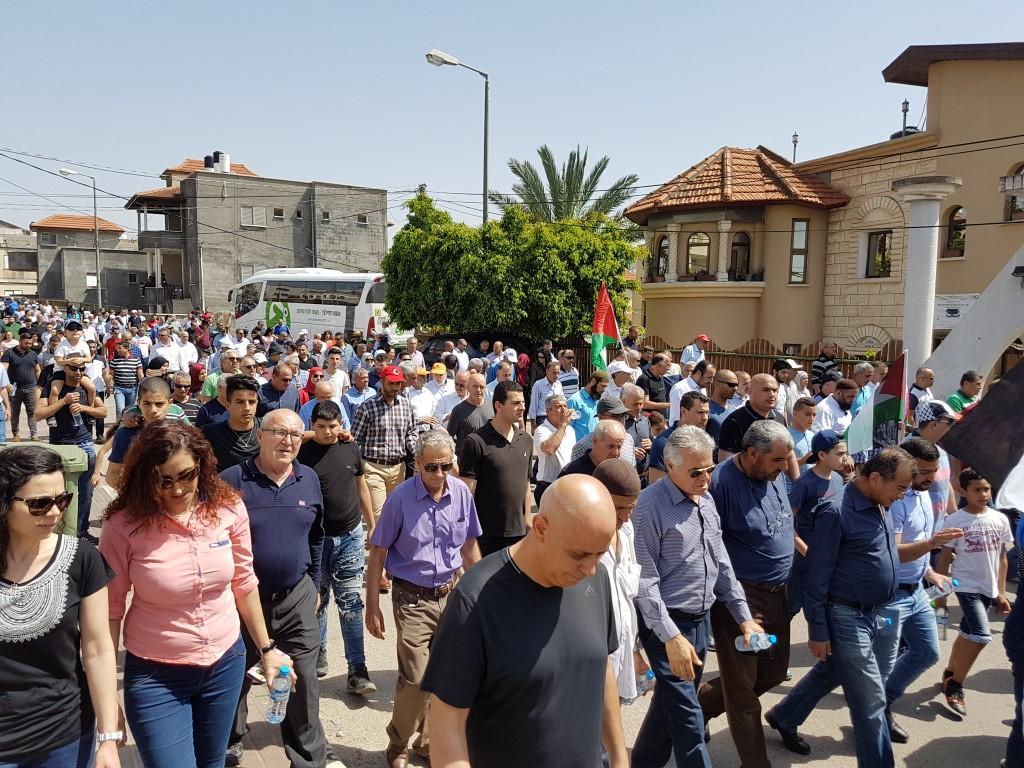 ناشطون: المشاركة في مظاهرة سخنين لم ترتق لمستوى الحدث