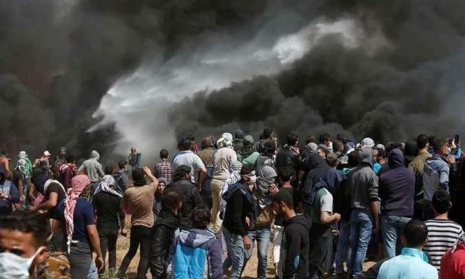 حماس: تهديدات الاحتلال جوفاء ومسيرات العودة متواصلة