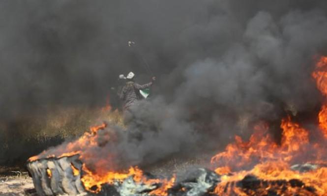 اشتباك مسلح ومدفعية الاحتلال تقصف غزة