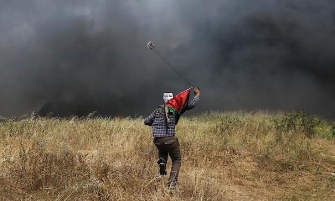 مسيرة العودة: إصابة حرجة برصاص الاحتلال شرق خانيونس