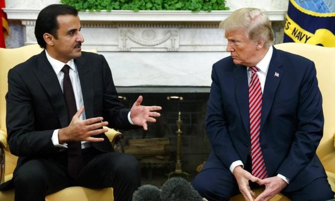 ترامب يلتقي أمير قطر في البيت الأبيض