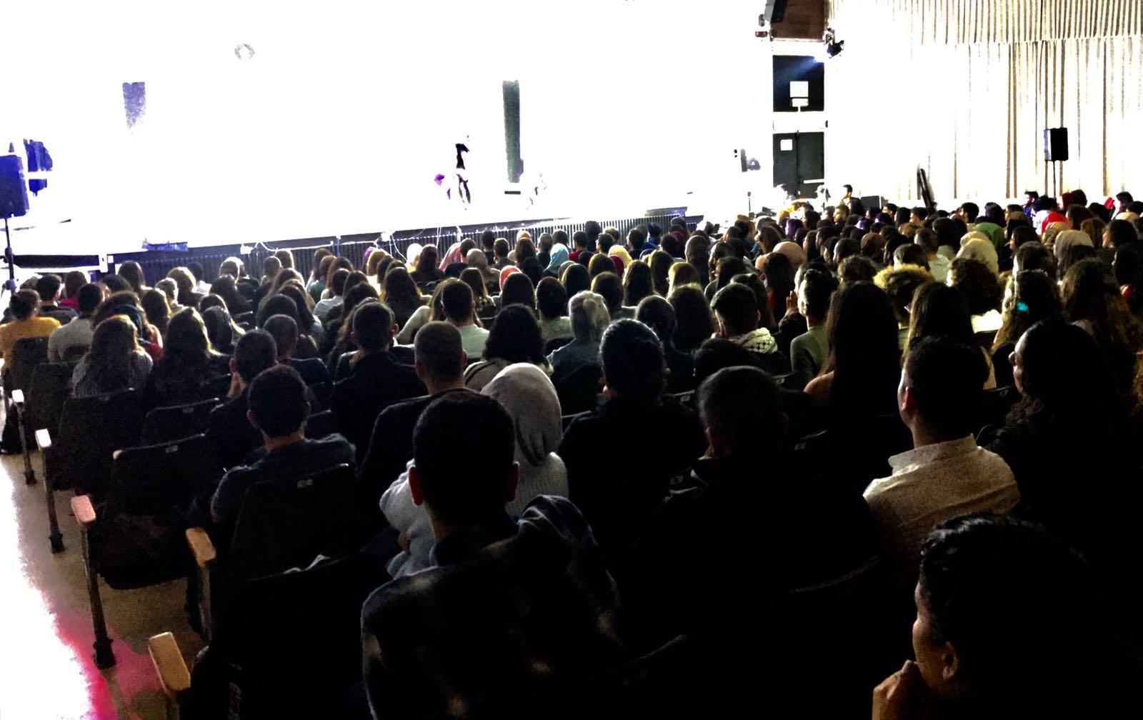 """جفرا تنظم مسرحية """"عائد إلى حيفا"""" في جامعة تل أبيب"""