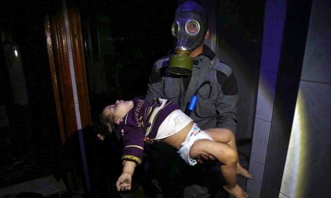 منظمة الصحة: أكثر من 500 سوري تعرضوا للغاز السام بدوما