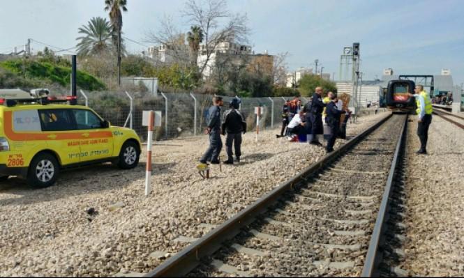 مصرع امرأة دهسها قطار وسط البلاد
