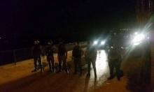 الاحتلال يعتقل 9 شبان فلسطينيين