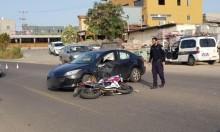 عرابة: إصابة خطيرة لشاب في حادث طرق