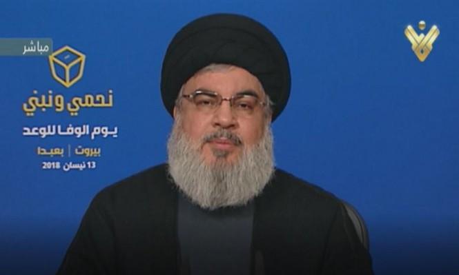 نصر الله: إسرائيل وضعت نفسها بمواجهة مباشرة مع إيران