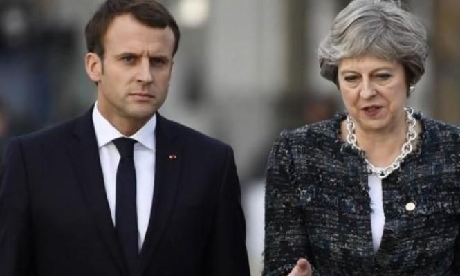 اتصالات إسرائيلية بريطانية فرنسية سبقت ضرب سورية