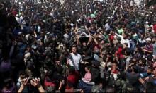 آلاف الفلسطينيّين يُشيّعون جثامين شهداء سرايا القدس
