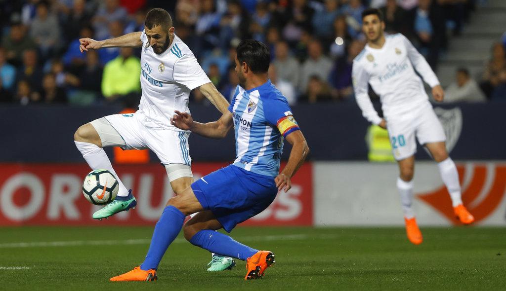 ريال مدريد يفوز على ملقا بعقر داره