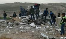 الاحتلال يصادر الخيام التعليمية بعد هدم مدرسة زنوتا