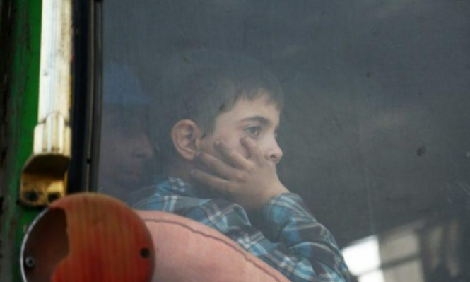 سورية: مقتل طفل بإطلاق نار على حافلة مهجرين من دوما
