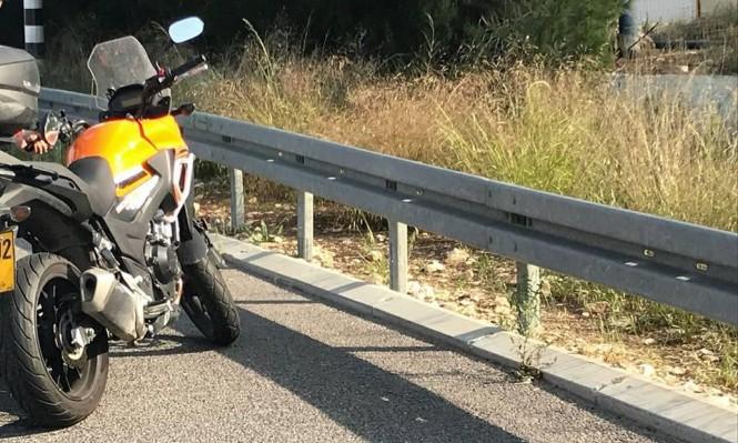 كفر ياسيف: إصابة سائق دراجة نارية في حادث طرق
