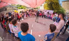 بمشاركة عشرات الأطفال: اختتام فعاليات مهرجان نوار نيسان برام الله