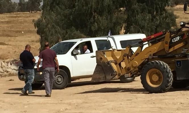 قوات الهدم والخراب تقتحم قرية العراقيب وتهدمها للمرة 127