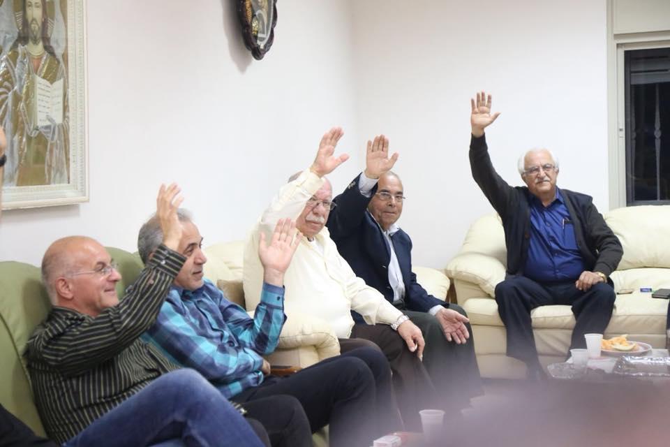 تجمع كفر كنا يقر خوض الانتخابات ضمن قائمة تحالفية