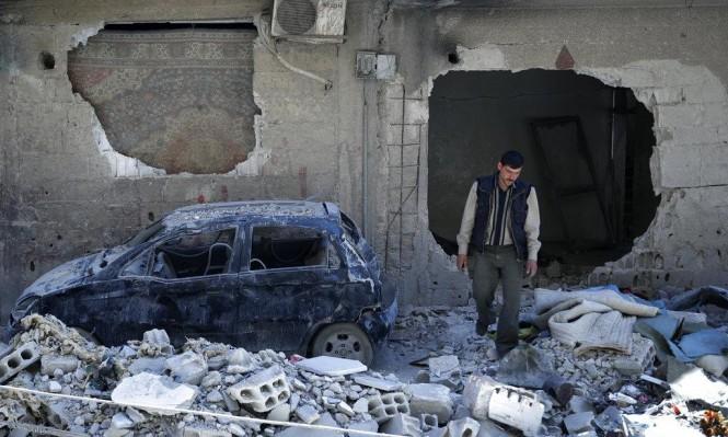 """روسيا تزعم العثور """"كلور ألماني وقنابل بريطانية"""" بالغوطة الشرقية"""