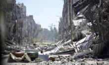 قتيلان ودمار كبير بقصف النظام لمخيم اليرموك