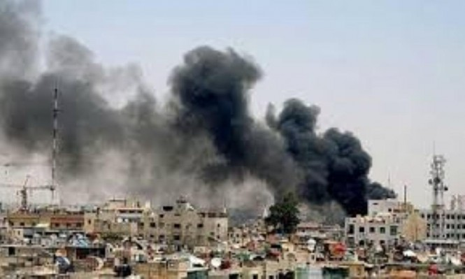 مقتل 4 لاجئين فلسطينيين بقصف روسيا والنظام لليرموك