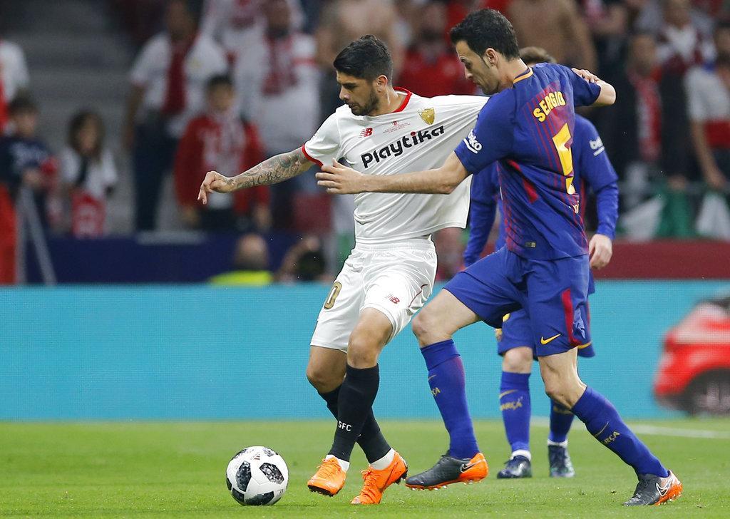 برشلونة يحصد أول ألقابه هذا الموسم