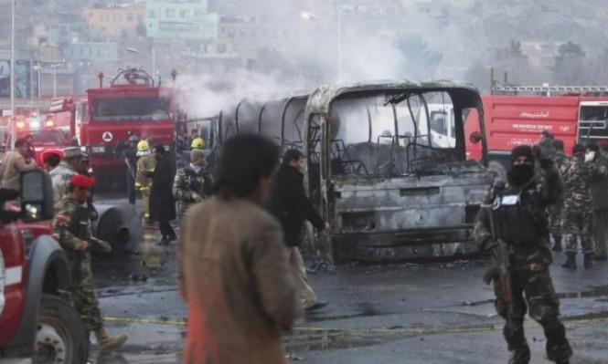 48 قتيلا و112 جريحا بتفجير انتحاري بالعاصمة كابل