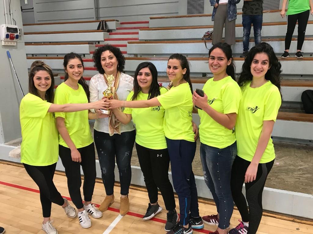 دوري كرة قدم للطالبات العربيات في جامعة حيفا