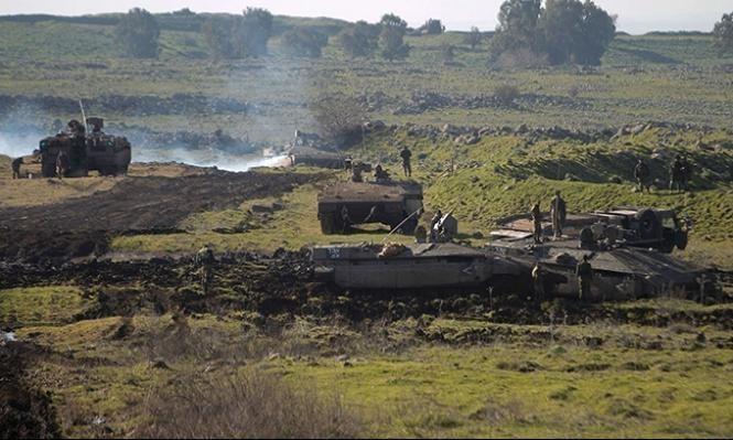 الجيش الإسرائيلي يقصف مدفعية سورية ردا على سقوط قذيفة