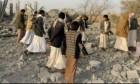 اليمن: 10 قتلى بغارة للتحالف استهدفت محطة وقود بحجة