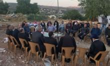 """""""المتابعة"""" تزور أبو غوش وتتضامن مع عائلتي البيتين المهدومين"""