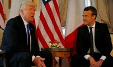 ترامب وماكرون يبحثان احتواء إيران واتفاق نووي جديد
