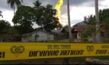 أندونيسيا: مصرع 10 وإصابة العشرات في حريق بئر نفطية