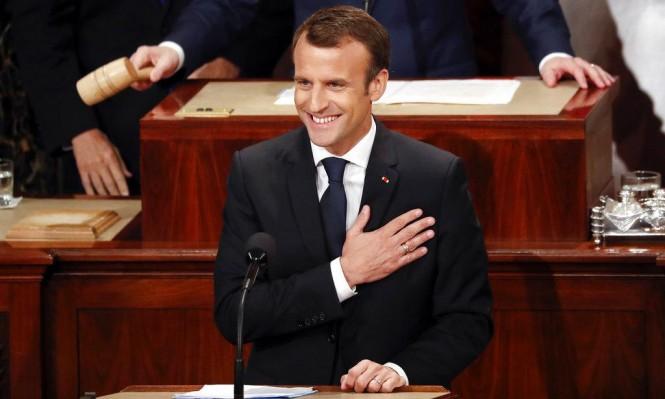 """ماكرون أمام الكونغرس: """"لن نتراجع عن الاتفاق النووي مع إيران"""""""