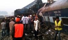 مصرع 14 طالبا في تصادم قطار وحافلة مدرسية بالهند