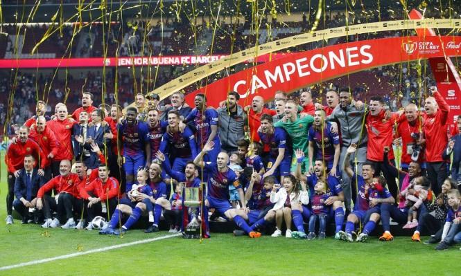 برشلونة على موعد مع التتويج