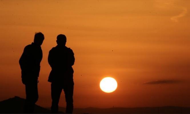 غروب الشمس في كبادوكيا التركية.. لوحة فنية طبيعية