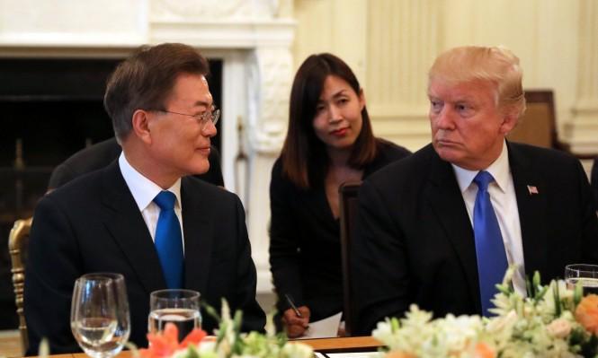 ترامب ينسق مع مون قبل قمة الكوريتين الجمعة