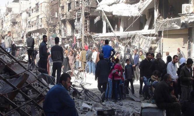 مقتل 31 لاجئا ودمار شامل بقصف النظام لمخيم اليرموك