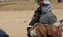 """50 إصابة بنيران الاحتلال في """"جمعة الشباب الثائر"""" بغزة"""