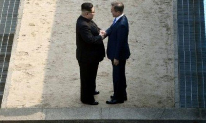 الزعيمان الكوريان يتفقان على نزع السلاح النووي