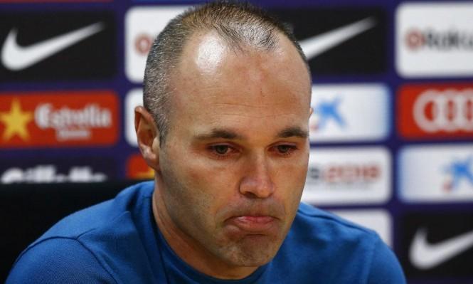 بعد 22 عاما: إنييستا يعلن رحيله عن برشلونة