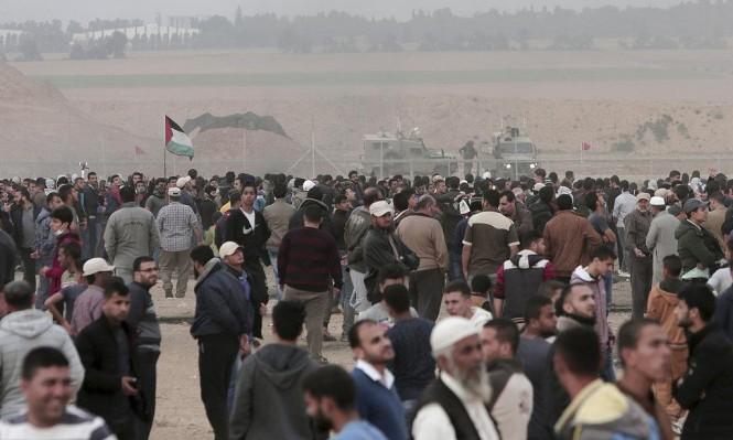 """غزة: دعوات للمشاركة بجمعة """"الشباب الثائر"""" والاحتلال يستنفر"""