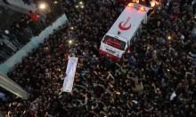 """غزة تشيّع شهداء جمعة """"الشباب الثائر"""""""