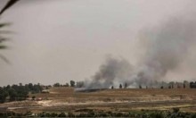 """""""طائرة ورقية"""" تشعل النيران بحقول مستوطنات """"غلاف غزة"""""""